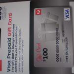 $100 Visa Pre Paid Gift Card Giveaway